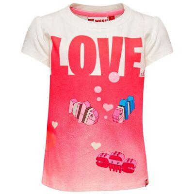 Lego Duplo T-shirt - Thea - Hvid m. Print - Børnetøj - Lego