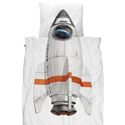 Snurk Sengetøj - Junior - Raket - Børnetøj - SNURK