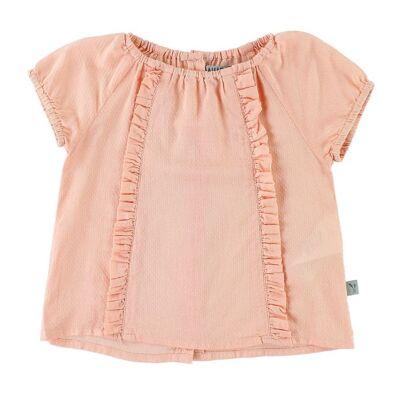Wheat T-shirt - Becca - Peach Portrait - Børnetøj - Wheat