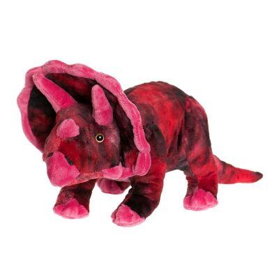 Teddykompaniet Bamse - Dinos - 40x15 - Rød Triceratops - Børnetøj - Teddykompaniet