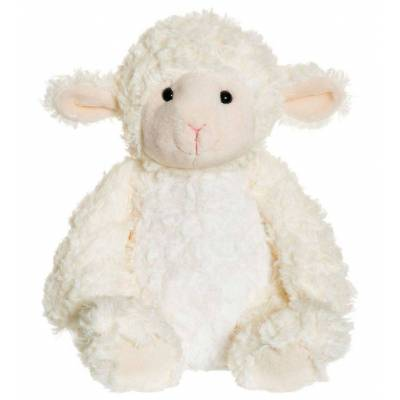 Teddykompaniet Bamse - Softies - 23 cm - Lammet Lilly - Børnetøj - Teddykompaniet