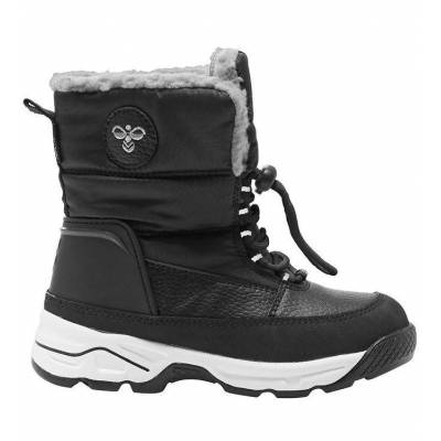 Hummel Vinterstøvler - Tex - Snow Boot Low Jr - Sort - Børnetøj - Hummel