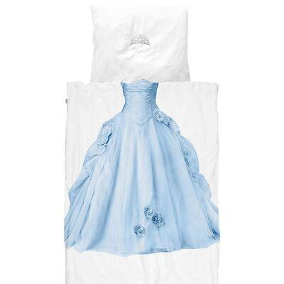 Snurk Sengetøj - Voksen - Blå Prinsesse - Børnetøj - SNURK