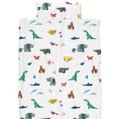 Snurk Sengetøj - Voksen - Origami Zoo - Børnetøj - SNURK