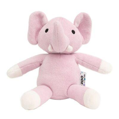 NatureZoo Bamse - 18 cm - Elefant - Rosa - Børnetøj - NatureZoo