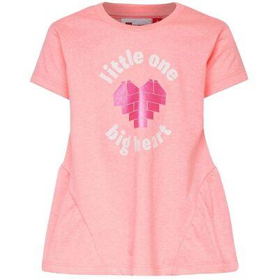 Lego Duplo T-shirt - Thelma - Pinkmeleret m. Print - Børnetøj - Lego