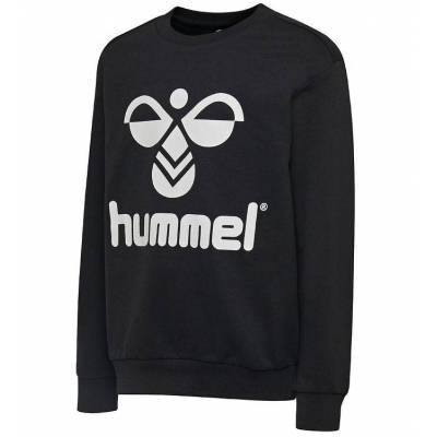 Hummel Sweatshirt - Dos - Sort m. Logo - Børnetøj - Hummel