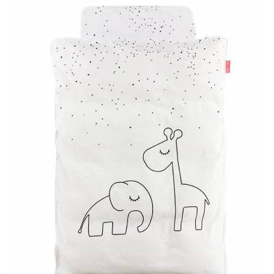 Done By Deer Sengetøj - Dreamy Dots - Junior - Hvid - Børnetøj - Done By Deer
