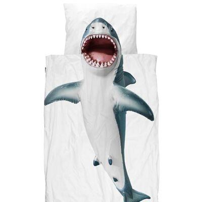Snurk Sengetøj - Voksen - Shark! - Børnetøj - SNURK