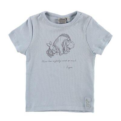 Disney Wheat Disney T-shirt - Eeyore & Piglet - Sky - Børnetøj - Disney