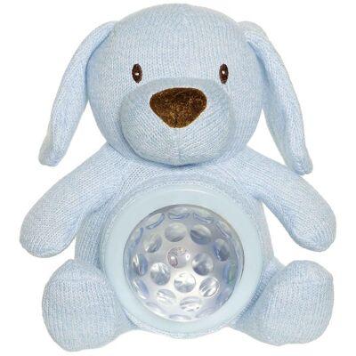 Teddykompaniet Bamse Natlampe - Teddy Lights - 22 cm - Hund - Børnetøj - Teddykompaniet