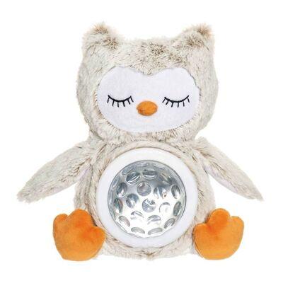 Teddykompaniet Bamse Natlampe - Teddy Lights - 22 cm - Ugle - Børnetøj - Teddykompaniet