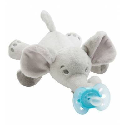 Philips Avent Sut m. Bamse - Ultra Soft - 20 cm - Elefant - Børnetøj - Philips