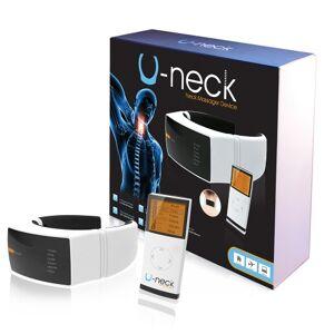 U-Neck Massageapparat med fjernebetjening - Til Nakkemassage mod stivhed, smerte & spænding - Kan hjælpe mod hold i nakken