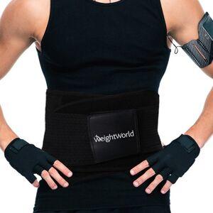 Svedbælte - Sweat Belt - Unisex Fitness Bælte - Størrelse S - Hot Pink - MaxMedix Træningsbælte - Træningsbælte Kvinder - Træningsbælte Mænd