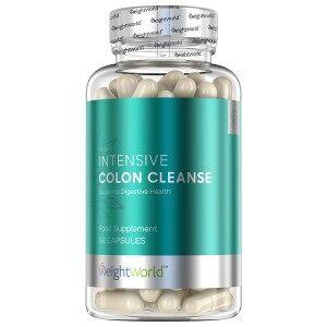 WeightWorld Intensive Colon Cleanse - 60 kapsler udrensningskur til tarmskylning mod forstoppelse, luft i maven og oppustethed
