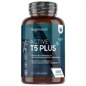 Active T5 Plus - Kraftfuldt termogenisk tilskud