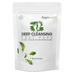 Detox Fodplastre - 10 Plaster - 5 Dages Udrensningsprogram - 100 % Naturlige Ingredienser