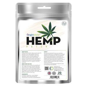 Hemp Plaster - 20 Plastre - Naturlige hemp plastre med aktive ingredienser - Kan bidrage til et sundt immunforsvar