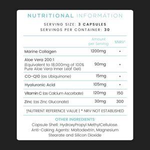 KetoWorld Keto Collagen Advanced - 90 Kapsler - Perfekt tilskud til en keto diæt - Med marine kollagen, hyaluronsyre, C vitamin og Co-Q10
