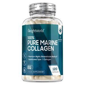 Pure Marine Collagen 1170mg 60 Kapsler - Anti-aging kosttilskud med Naturlig kollagen Kosttilskud