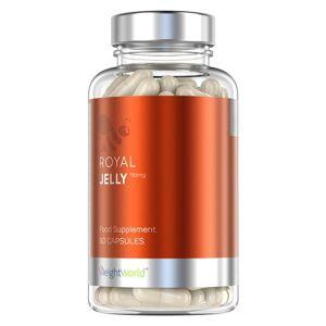 Royal Jelly - Naturligt Kosttilskud for Wellness & Immunsystem fra Bier - 60 Kapsler - For Sukkerniveau og Kolestoroltal - Virksomt 750mg indhold