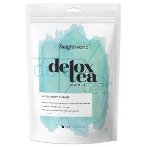 WeightWorld Detox Te - 28 Dages Udrensningskur - Rig kilde til energigivende vitaminer & mineraler for bedre fordøjelse