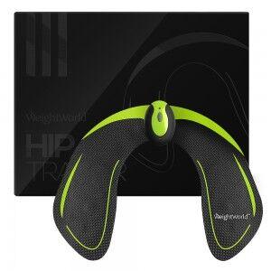 WeightWorld Hip Trainer Træningsmaskine - Ergonomisk hoftetræner, der også styrker mavemusklerne, ben og balder