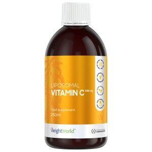 WeightWorld Liposomal Vitamin C 250 ml Væske - C Vitamin Flydende for immunsystemet - Kraftfuld Immun-Booster