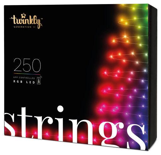 Twinkly Strings Lyskæde - Farvet Lys-20 Meter - 250 Lys