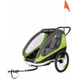 Hamax Traveller Cykelanhænger, Grøn