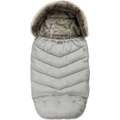 Vinter & Bloom Chic Kørepose, Silver Grey - Barnevogne og Klapvogne - Vinter & Bloom