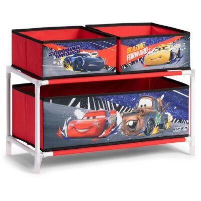 Disney Cars Reol 3 Skuffer - Babymøbler - Disney
