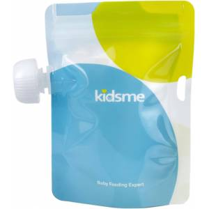 Kidsme Reuseable Food Pouch, 4x180ml
