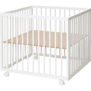 BabyDan Baby Dan Comfort Kravlegård 80x80, Hvid