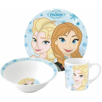 Disney Frozen Spisesæt af Keramik - Baby Spisetid - Disney