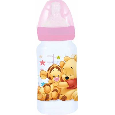 Nalle Puh Peter Plys Sutteflasker 2-pak, Lyserød - Baby Spisetid - Nalle Puh