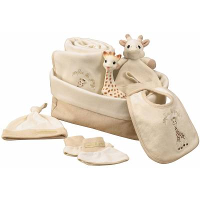 Sophie The Giraffe So Pure My First Hours Gavesæt - Baby Spisetid - Sophie the Giraffe