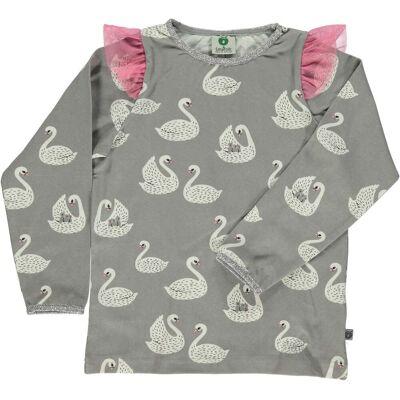 Småfolk T-Shirt, Sea Pink 7-8 år - Børnetøj - Småfolk