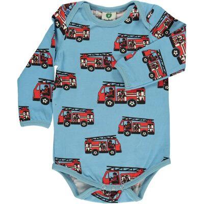 Småfolk Brandbil Body, Air Blue 56 - Børnetøj - Småfolk
