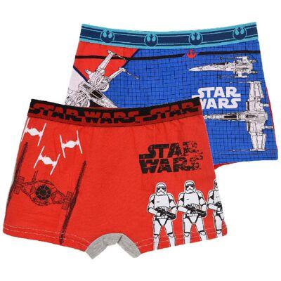 Star Wars Boksershorts 2-Pack 7-8 år - Børnetøj - Star Wars