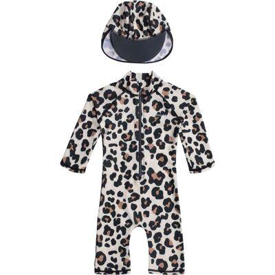 Nordbjørn UV-Dragt & Hat, Leo Classic 122–128 - Børnetøj - Nordbjørn