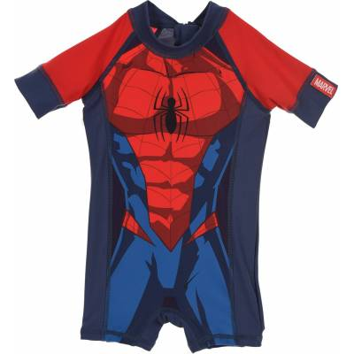 Marvel Spider-Man UV-dragt, Rød 2 År - Børnetøj - Marvel Spider-Man