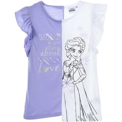 Disney Frozen T-Shirt, Lilla 6 år - Børnetøj - Disney