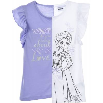 Disney Frozen T-Shirt, Lilla 4 år - Børnetøj - Disney