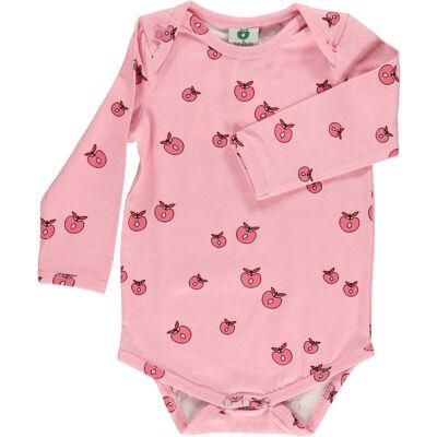 Småfolk Body Æble, Sea Pink 68 - Børnetøj - Småfolk