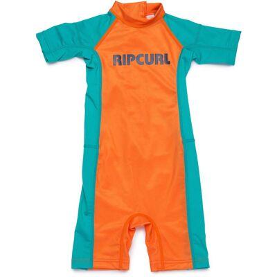 Rip Curl Groms Spring UV-Dragt, Orange 1 år - Børnetøj - Rip Curl