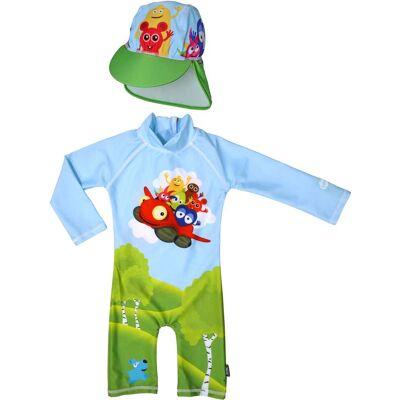 Swimpy UV-Dragt & Hat, Babblarna 74–80 - Børnetøj - Swimpy