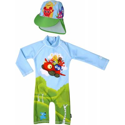 Swimpy UV-Dragt & Hat, Babblarna 98–104 - Børnetøj - Swimpy