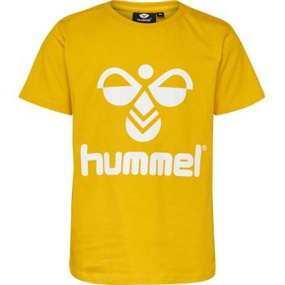 Hummel Tres T-Shirt, Sulphur 116 - Børnetøj - Hummel